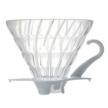 Hario V60 (02) Glass Dripper: 1-4 Cups