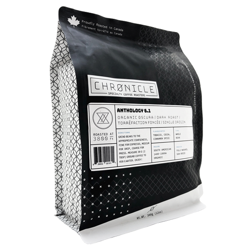 Chronicle Coffee Roasters Drip - Organic Oscuro (340g)
