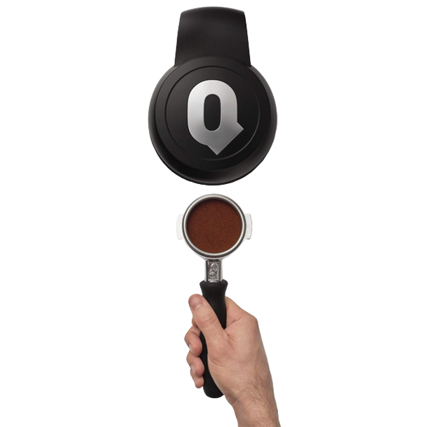 PuqPress Q2 Auto Tamper 58.3mm Matte Black