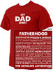 """""""My Dad Shirt"""":  The Ultimate Adventure T-Shirt"""