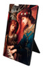 St. Cecilia by Strudwick Vertical Desk Plaque