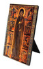 St. Clare by Dossal Vertical Desk Plaque