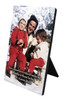St. Gianna Molla in the Snow Vertical Desk Plaque