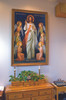 King of Divine Mercy Church- Sized Framed Canvas