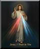 Divine Mercy Wall Plaque