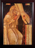 St. Francis Kissing the Feet of Christ Framed Art