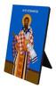 St. Athanasius Vertical Desk Plaque