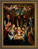 Nativity with Down Syndrome Angel and Shepherd Framed Art