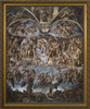 Last Judgement of Christ - Standard Gold Framed Art
