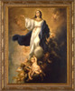 Assumption of the Virgin by Murillo - Ornate Gold Framed Art