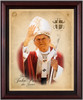 St. John Paul II (Waving) Framed Art