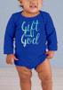 Gift From God Long-Sleeve Baby Onesie