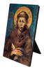 St. Francis by Cimabue Vertical Desk Plaque