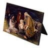 Adoration of the Shepherds (Jenicke) Horizontal Desk Plaque