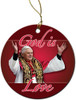 God is Love Ornament