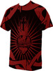 Sacred Heart of Jesus Poly T-Shirt