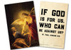 """""""If God is For Us"""" St. Paul Quote Holy Card"""