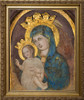 Mater Ecclesiae - Our Lady of the Column Restored - Gold Framed Art