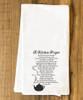 Kitchen Prayer Tea Towel