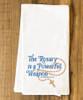 Rosary Tea Towel