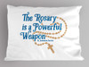 """The Rosary"" St. Josemaria Escriva Quote Pillowcase"