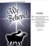 We Believe Greeting Card