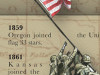History of Old Glory (The American Flag) Print