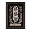Three Hearts of the Holy Family  - Ornate Dark Framed Art