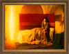 The Annunciation by  Henry Ossawa Tanner- Gold Framed Art