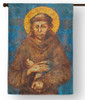 Saint Francis of Assisi Outdoor House Flag