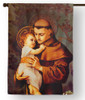 Saint Anthony of Padua Outdoor House Flag