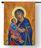 Our Lady of Good Health Icon Outdoor House Flag