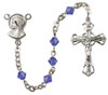 Simple Silver Plated Rosary