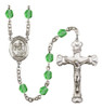 Hand-Made Silver Plate St. Catherine of Siena Rosary