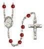 Hand-Made Silver Plate St. Maria Goretti Rosary