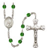 Hand-Made Silver Plate St. Gianna Beretta Molla Rosary