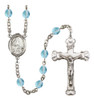 Hand-Made Silver Plate St. Veronica Rosary