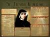 St. Faustina Kowalska Explained Poster