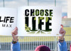 Choose Life Waterproof Signs (Pack of 12)
