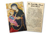 Antique Our Lady of Good Health Holy Card
