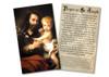 Novena to St. Joseph Holy Card