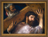 Christ Carrying the Cross by Titian - Gold Framed Art