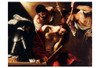Crowning of Thorns by Caravaggio Print