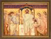 The Eucharist by Viktor Vasnetsov - Gold Framed Art