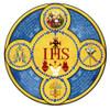 Latin Holy Name Emblem Indoor Outdoor Aluminum Print