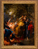 The Betrayal of Christ by Anthony van Dyck - Gold Framed Art