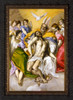 The Trinity by El Greco - Ornate Dark Framed Art