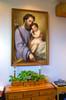 St. Joseph and the Infant Jesus by Ricardo Balaca Church-Sized Framed Canvas
