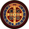 Benedictine Medal Emblem Outdoor Poly Wood Plaque