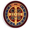 Benedictine Medal Emblem Outdoor Plaque